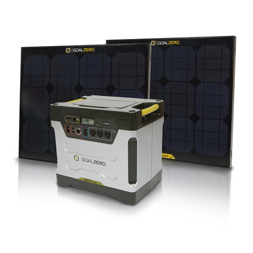 The Yeti portable solar generator is capable of running most major ...